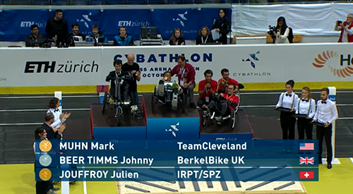 TeamCLE Cybathlon time trials